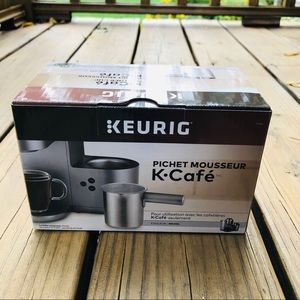 Keurig K-Cafe Frother Cup Nickel Color New in Box